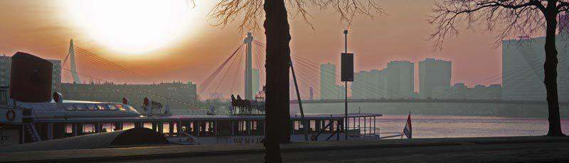 Rotterdam, Maasboulevard