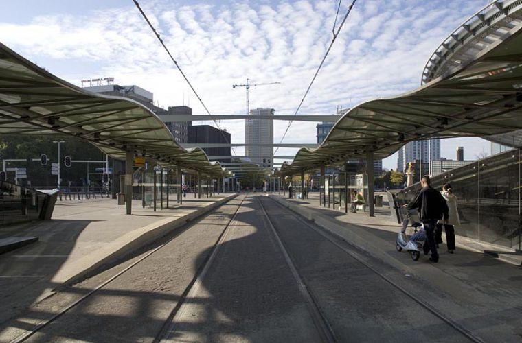 Rotterdam, station BlaakOpdracht NS Vastgoed
