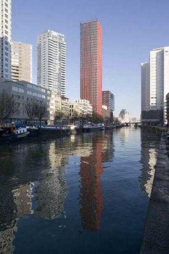 Rotterdam Scheepmakershaven met Red AppleOpdracht Vogt Metaalbouw