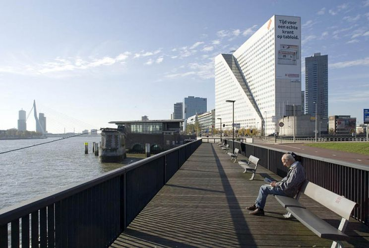 Rotterdam, MaasoeverOpdracht NS Vastgoed