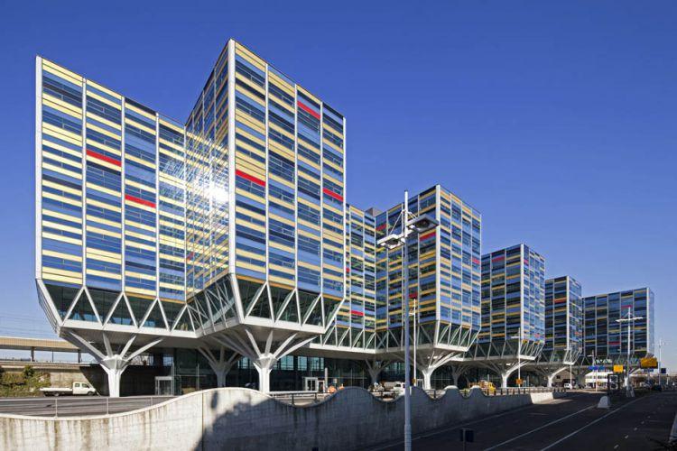 Leiden, kantoorgebouw Achmea. VVKH ArchitectenOpdracht Schüco Nederland BV