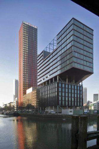 Rotterdam, Kantoorgebouw Red Apple. KCAP ArchitectenOpdracht Vogt Metaalbouw