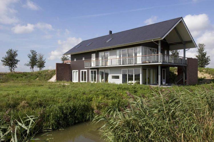 Strijen, woning Buitendijk. Opdracht Maat Architecten, Rotterdam