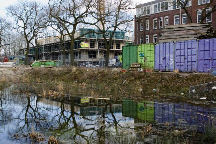 Slooplokatie Crooswijk bij Gordelweg, Rotterdam