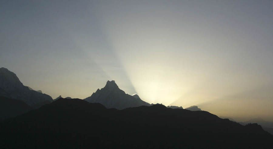 Nepal, Ghorepani, Poon Hill