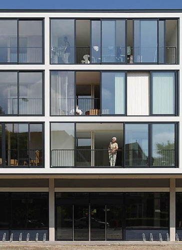 Dordrecht, Woningbouwproject Krispijnstraat.Opdracht SAR Architecten