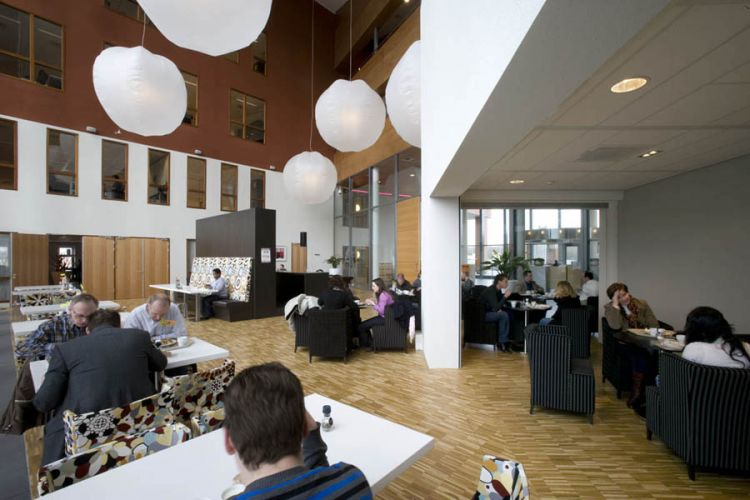 Office Building Stater, Podium, Amersfoort VathorstRestaurant
